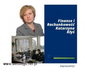 Finanse i Rachunkowość Katarzyna Kłyś